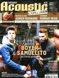 Guitarist acoustic N° 71