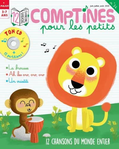 Abonnement Histoires pour les Petits Maxi Comptines null null (photo)