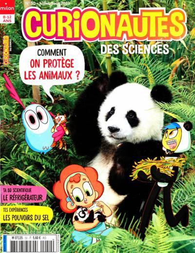 Abonnement magazine Curionautes des sciences