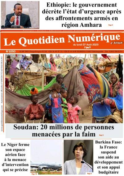 Quotidien numérique d'Afrique - N°190920
