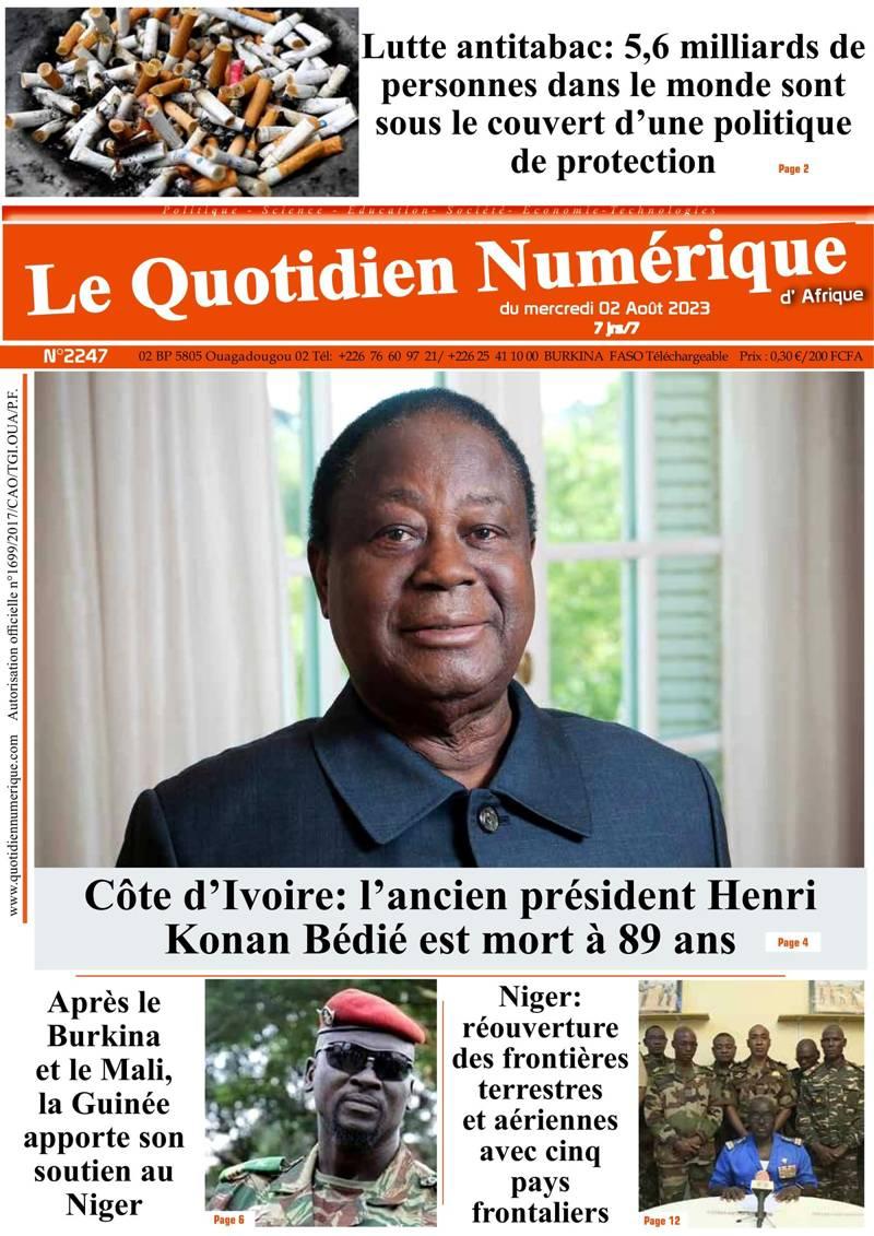 Quotidien numérique d'Afrique