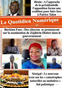 Quotidien numérique d'Afrique N° 210116