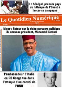 Quotidien numérique d'Afrique N° 210225