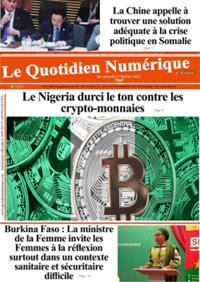 Quotidien numérique d'Afrique N° 210227