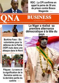 Quotidien numérique d'Afrique N° 210403