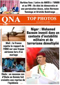 Quotidien numérique d'Afrique N° 210405