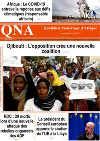 Quotidien numérique d'Afrique N° 210406