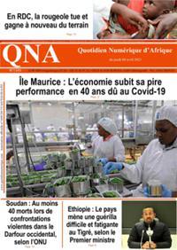 Quotidien numérique d'Afrique N° 210408