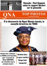 Quotidien numérique d'Afrique N° 210409