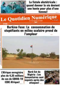 Quotidien numérique d'Afrique N° 210414