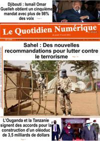 Quotidien numérique d'Afrique N° 210415
