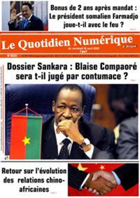 Quotidien numérique d'Afrique N° 210416