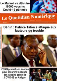 Quotidien numérique d'Afrique N° 210417