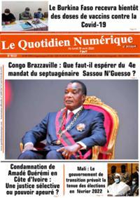 Quotidien numérique d'Afrique N° 210419