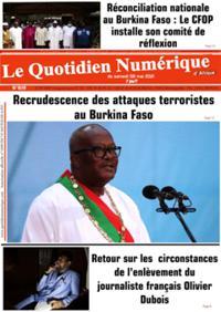 Quotidien numérique d'Afrique N° 210508