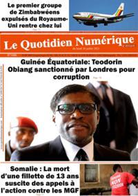 Quotidien numérique d'Afrique N° 210726