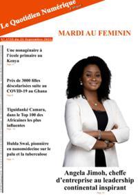 Quotidien numérique d'Afrique N° 210921