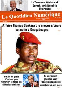 Quotidien numérique d'Afrique N° 211011