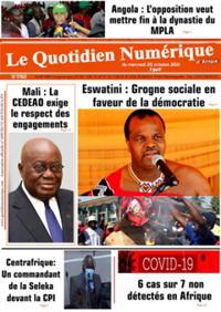 Quotidien numérique d'Afrique N° 211020