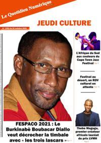 Quotidien numérique d'Afrique N° 211021