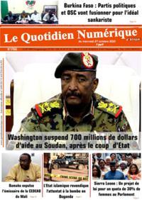 Quotidien numérique d'Afrique N° 211027