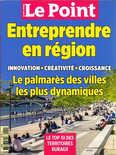 Le Point HS Entreprendre en région (photo)