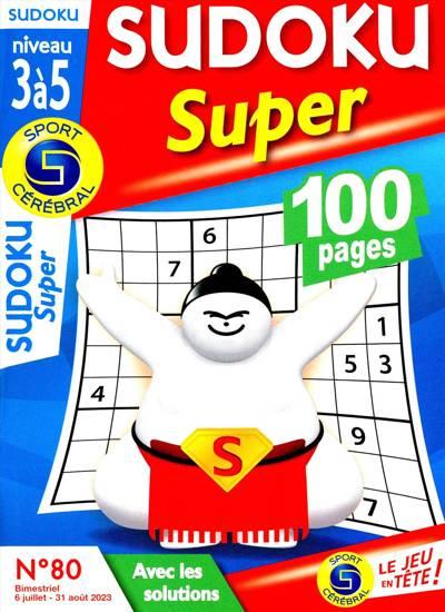 Sudoku Super (Niveau 3 à 5) - N°58