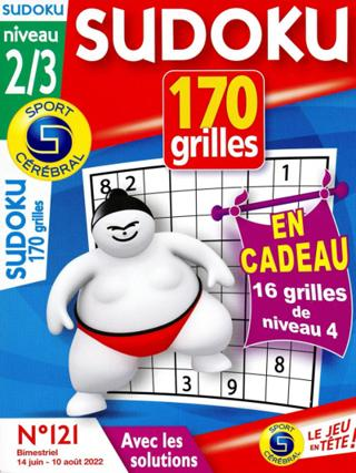 Sudoku 170 grilles (Niveau 2/3)