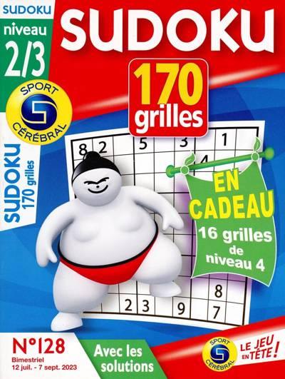 Abonnement magazine Sudoku 170 grilles (Niveau 2/3)