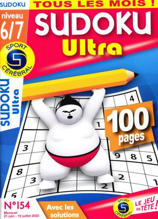 Sudoku Ultra (Niveau 6/7)