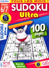 Sudoku Ultra (Niveau 6/7) N° 131