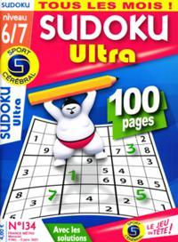 Sudoku Ultra (Niveau 6/7) N° 134