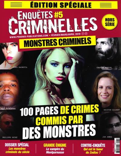 Enquêtes criminelles HS (photo)