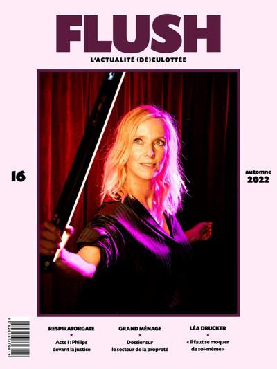 Flush magazine (photo)