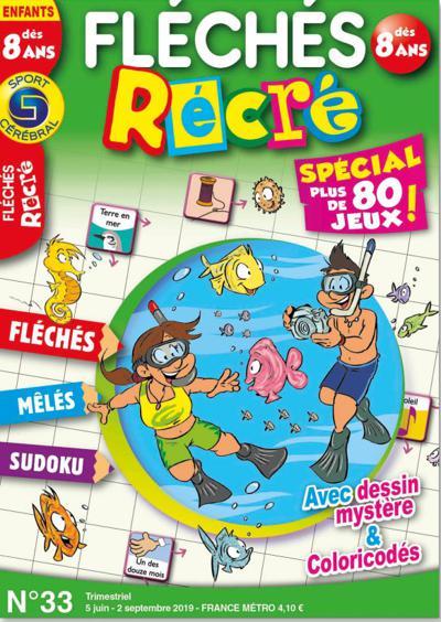 Abonnement magazine Fléchés Récré + Jeux Récré