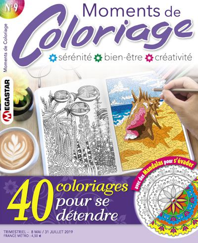Abonnement magazine Moments de coloriage