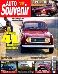 Auto Souvenir N° 13