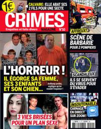 Crimes magazine N° 10