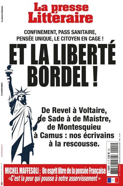 Abonnement La Presse littéraire