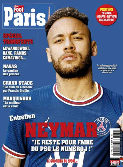 Abonnement Le Foot Paris Magazine