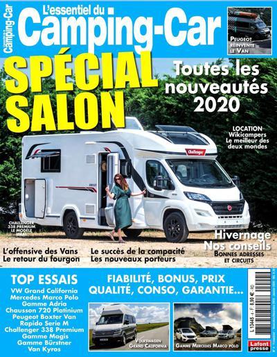 Abonnement L'Essentiel du Camping Car