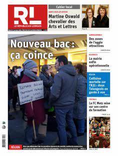 Abonnement Le Républicain Lorrain, Ed. de Sarreguemines