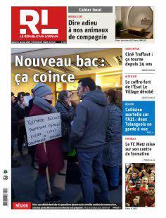 Le Républicain Lorrain, Ed. de Saint-Avold - N°200121