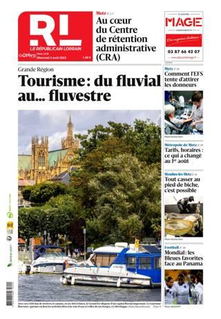 Le Républicain Lorrain, Ed. de Metz