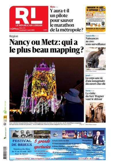 Le Républicain Lorrain, Ed. de Metz - N°200327