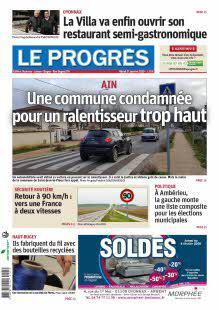 Abonnement Le Progrès, Oyonnax, Léman, Bugey