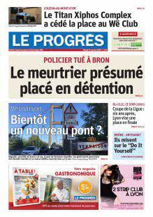 Abonnement Le Progrès, Ouest Lyonnais, Val de Saône