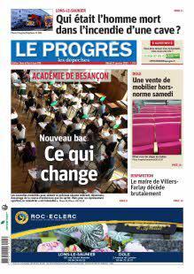 Le Progrès, Ed. de Dole et Nord Jura