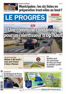 Le Progrès, Bourg, Bresse, V.de Saône Nord