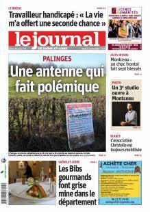 Le Journal de Saône et Loire, Ed. de Montceau-les-Mines